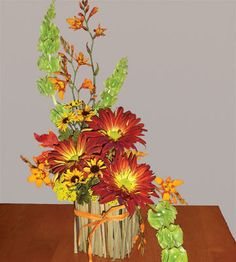 tasteful fall floral centerpieces - Google Search
