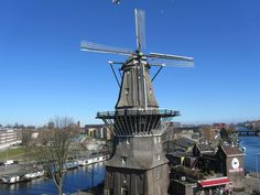 The IJ Brewery in Amsterdam - A taste of tradition and history, The IJ Brewery (in Dutch: Brouwerij 't IJ) is a small microbrewery producing organic beer, housed in an old windmill called De Gooyer which is national monument and the tallest wooden mill in the country. Do the tour and of course… taste the beer!