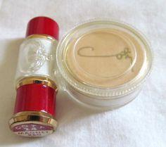 Vintage Coty Lipstick Face Powder Purse Combo | eBay