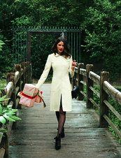 12/2011 White wool coat #104