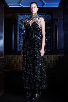 visual optimism; fashion editorials, shows, campaigns & more!: amanda murphy for alexander mcqueen pre-fall 2014