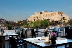 Athens Gate Hotel rooftoop bar, Athens, Greece. Spent every night up there, drinking wine and stargazing.