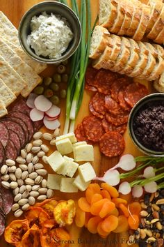 How To Assemble The Ultimate Cheese Plate with 13 different Dips for the holidays!