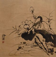 Xu Wei (Ming Dynasty) - Summer Lotus Pond Chinese Painting, Chinese Art, E Bird, Simple Subject, Lotus Pond, Ink Wash, Aesthetic Art, Watercolor And Ink, New Art