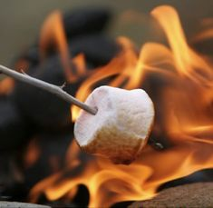 Always loved toasting marshmallows on an open fire. Now diabetic, can't, but still love watching others do it and the smell of it!