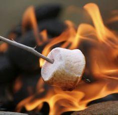 nothing says summer like roasting marshmallows...