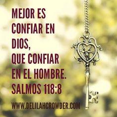 Confiar en Dios....