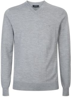 Armani Jeans Knitted V-Neck Sweater by Armani Jeans http://ift.tt/2m2Yqyw