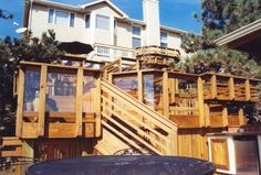 Got a small or steep backyard? Not a problem. Build up! The perks of multilevel decks.