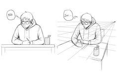 Dibujando en perspectiva (3): Volumen y profundidad | Concurso Manga