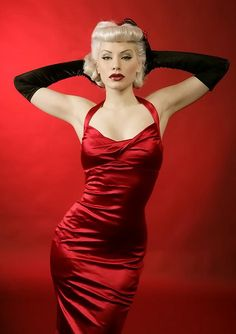 Pinup Couture Bad Girl Dress Modeled by Jessica White by pinupgirlclothing, via Flickr #EasyNip