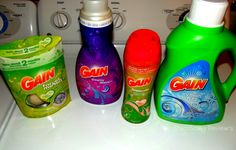 Gain Laundry Products - I love all their scents!!!