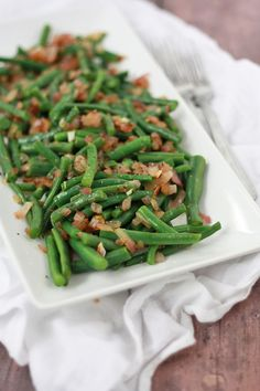 Green Beans with Tangy Vinaigrette (gf, df, v, paleo, whole30)