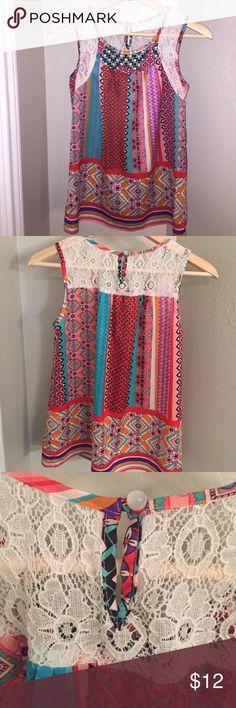 Boutique Baby Doll Style Top Size Small,  I'm 5'5 and hits top of thigh.  Great layered or alone.  Summer Sale☀️🎉 Joy Joy Tops Blouses