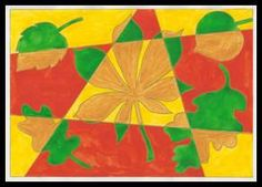 Listy – podzimní barvy 5th Grade Art, Ecole Art, Autumn Art, Art Classroom, Fall Crafts, Art Lessons, Projects To Try, Lily, Tempera