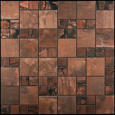 copper bathroom wall tile accents - Google Search