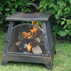 Square Outdoor Fire Pit - Seattle