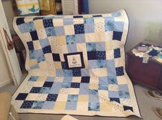 Personalized Wedding Quilt Wedding Signature Quilt with by kdduke