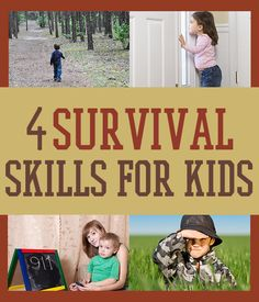 Survival Skills For Kids | Family Survival Guide