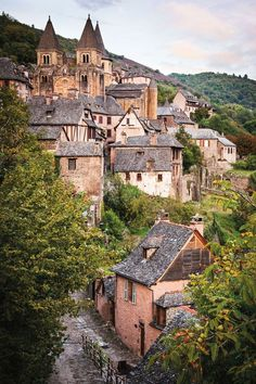 Conques, Aveyron France