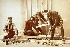 Japanese Carpenters by ookami
