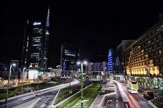 Milan City Lights by Jacopo Scarabelli on #500px #Milan #City #Lights #Night #Skycraper #Photo #Nikon #D800 #Cityscape