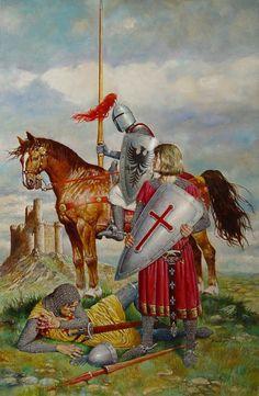 H. Keskiajan taide Blas Gallego, midle ages