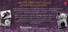 Anuja Chandramouli: The Hopeless Blogger!: THE ONE THING YOU CANNOT LIVE WITHOUT contest!