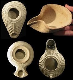 Ancient Resource: Ancient Biblical-Period Artifacts from the Holy Land. These ancient lamp designs are perfect for developing Chrismons.