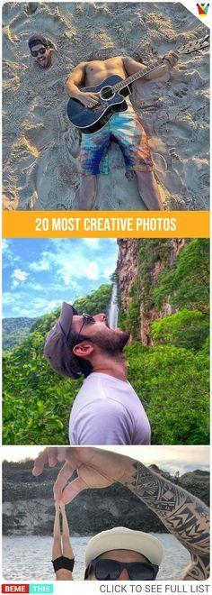 20 Most Creative Photos 20 kreativsten Fotos Creative Photography, Digital Photography, Photography Poses, Amazing Photography, Photography Reflector, Photography School, Photography Articles, Photography Lighting, Photography Classes