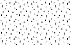 This modern tribal black and white print is perfect for children and baby's clothing, decor, and nursery items.  Coordinates beautifully with the rest of my Tribal Trees collection.  Have a great day!  ** You are welcome to use this fabric for commercial usage--all I ask is that you credit CAVU Too Designs. **