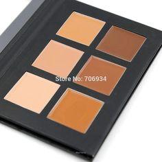 5445368a3 Pro 6 Kit Cream Contour Palette Estojo De Maquiagem, Paleta De Contorno,  Pele Do