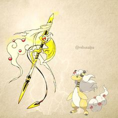 181 - Mega Ampharos Weaponized (Pokemon)