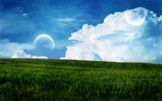 WALLPAPERS HD: Sky Field Planet