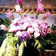 New flowers in our hotel #flowers #flemingshotel #flemingsmayfair