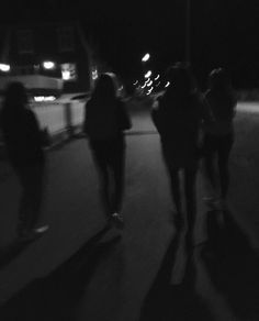 Walking to our tour bus after the concert