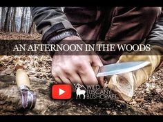 A short bushcraft video Bushcraft Skills, Lost In The Woods, Staying Alive, Survival, Swords, Knights, Tuscany, Channel, Horses