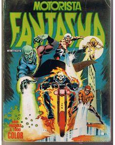 MOTORISTA FANTASMA. Nº 1. 180 PÁGINAS A TODO COLOR. MUNDI COMICS (C/A39) (Tebeos y Comics - Vértice - Surco / Mundi-Comic)