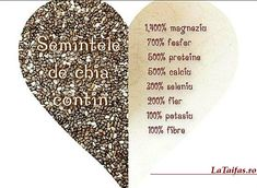 semințele de chia 2 Chia, Natural Remedies, Fun Facts, Vegetarian, Interesting Facts, Drink, Kitchen, Diet, Beverage