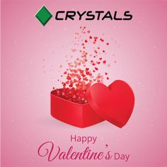 Crystal Group sends our love and blessings wishing you a very Happy Valentine's Day. #crystalsgroup #valentinesday #love #celebration