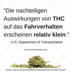 Trotzdem wird Personen die vor Tagen Cannabis konsumiert haben der Führerschein entzogen, obwohl das THC kein Einfluss mehr auf das Fahrverhalten hat.
