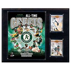 Catfish Hunter Oakland Athletics Plaque