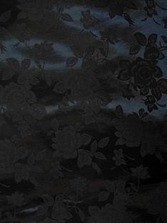 Black Eversong Brocade Fabric - Bridal Fabric by the Yard