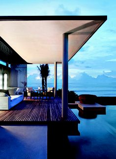 Outdoor living at Alila Villas Soori, Bali