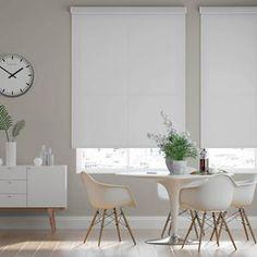 Select Fabric Light Filtering Roller Shades | SelectBlinds Modern Roller Blinds, Room Darkening Shades, Motorized Shades, Light Filter, Roller Shades, Color Filter, Living Room Modern, Window Coverings, Interior Design