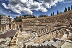 SPAIN / Hispania Romana - Teatro romano de Carthago Nova (Cartagena..Murcia )