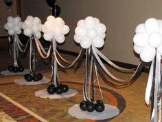 Bijoux Balloon :: Certified Balloon Artist: Party Decorations: Corporate Events: Weddings - New Deko Sites Balloon Columns, Balloon Arch, Balloon Ideas, Balloon Display, Deco Originale, Balloon Centerpieces, Wedding Balloons, Birthday Decorations, Corporate Events