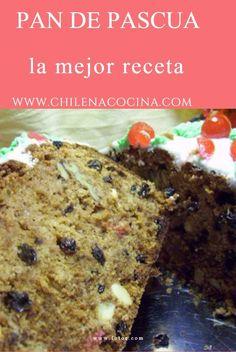 Tradicional pan para navidad en Chile