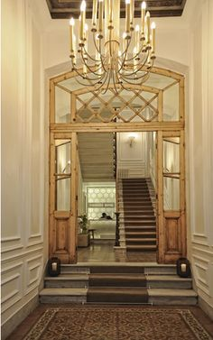 Grand Entrance in Warm Grey and Brown, House Hotel, Istanbul