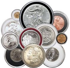 10 Coin Capsules /& 10 Coin Stands for PENNY Direct Fit Airtight 19mm Coin Holder